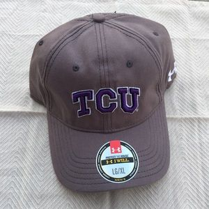 New!! Men's Under Armour TCU Horned Frogs Hat L/XL